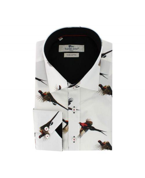 Claudio Lugli Shirt CP6062 White