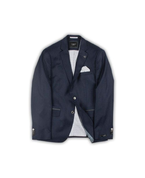 Giordano Serge Twill Flannel Jacket Navy