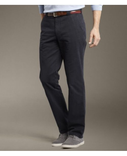 Meyer Roma Soft Cotton Chinos Navy
