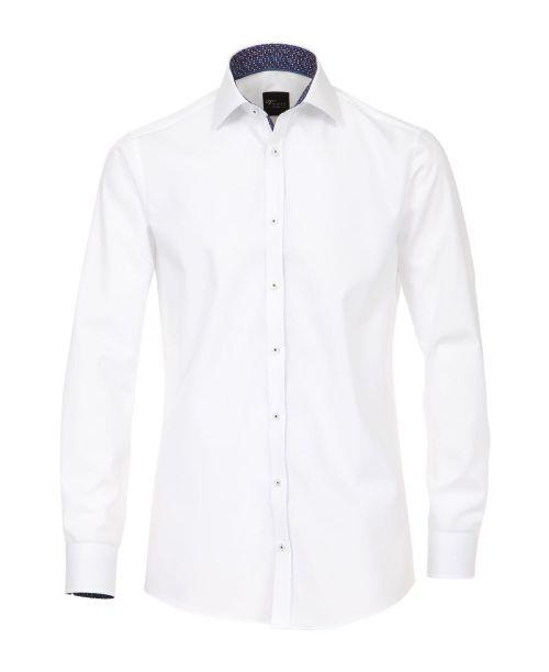 Venti Kent Slim Fit Shirt White