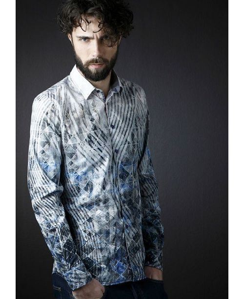 Rich Friday Geometric Printed Shirt