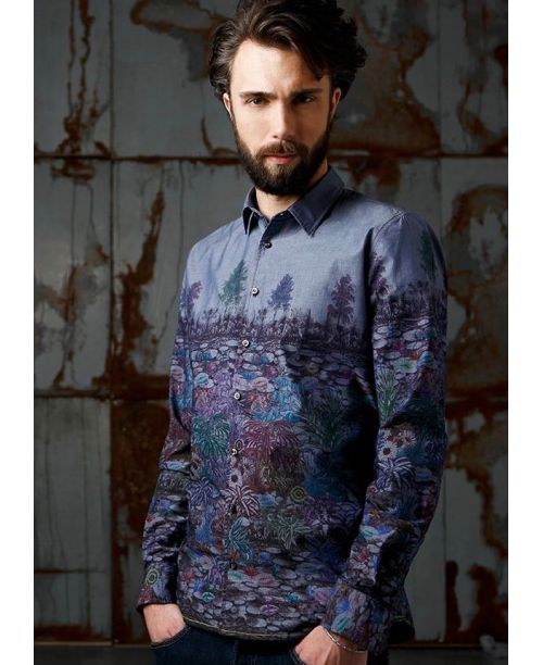 Rich Friday Tree Printed Shirt