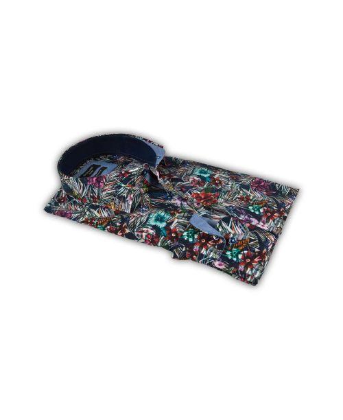 Giordano Arona LS Cutaway Flash Floral Shirt