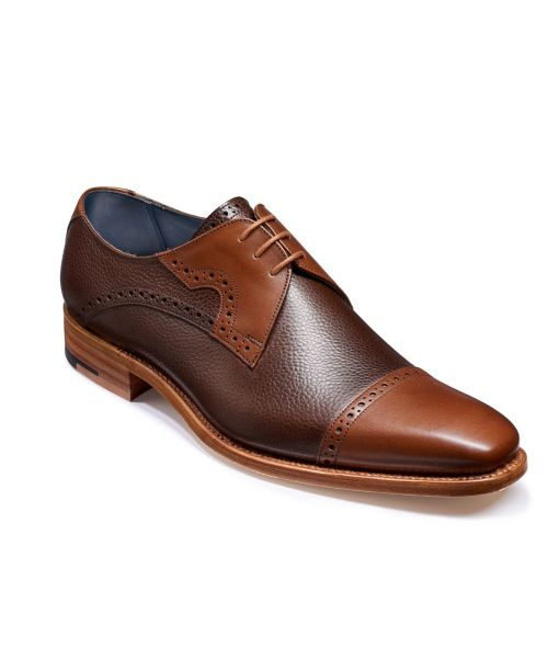 Barker Shoes Ashton Brown Grain/Walnut Calf