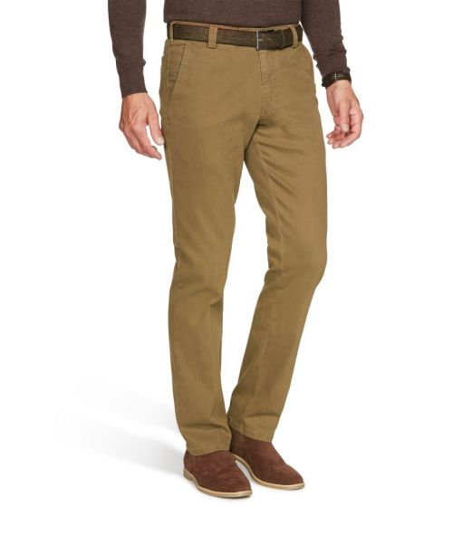 Meyer New York Super Stretch Flamme Chinos Camel