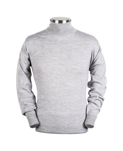 Baileys High Neck Pullover Light Grey