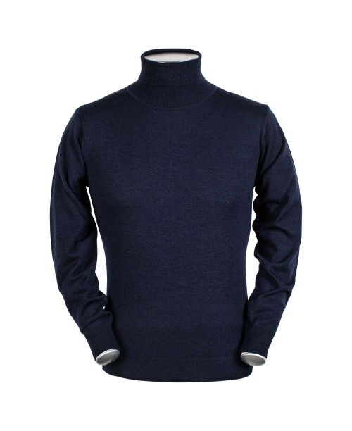 Baileys High Neck Pullover Navy
