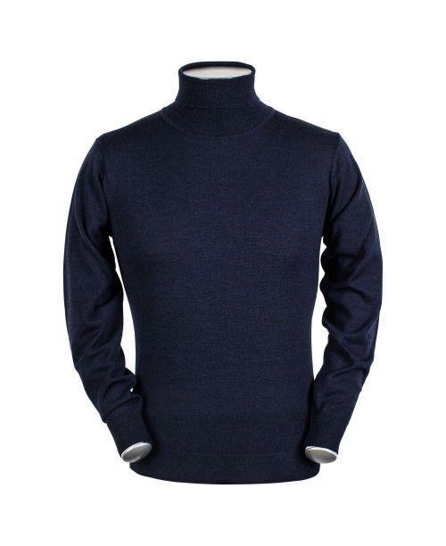Baileys High Neck Pullover Navy