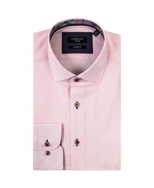 Giordano Arona LS Cutaway Italian Fabric Pink