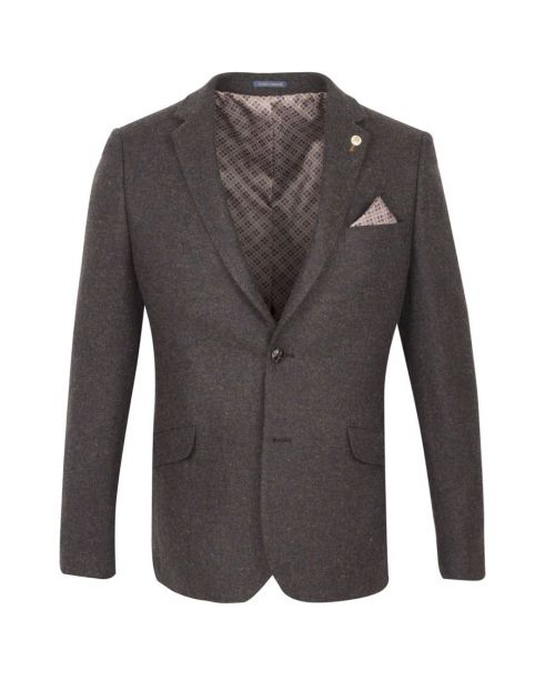 Guide London Tweed Brown Jacket