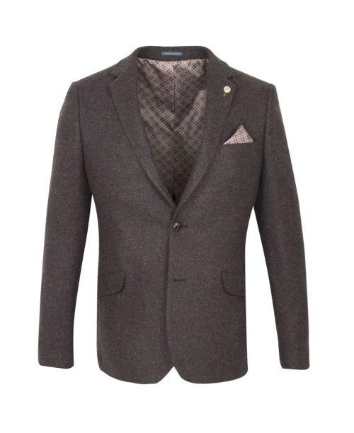 Guide London Tweed Brown Jacket