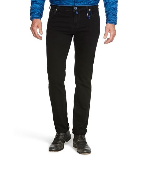 Meyer M5 Superstretch Slim Jeans Black