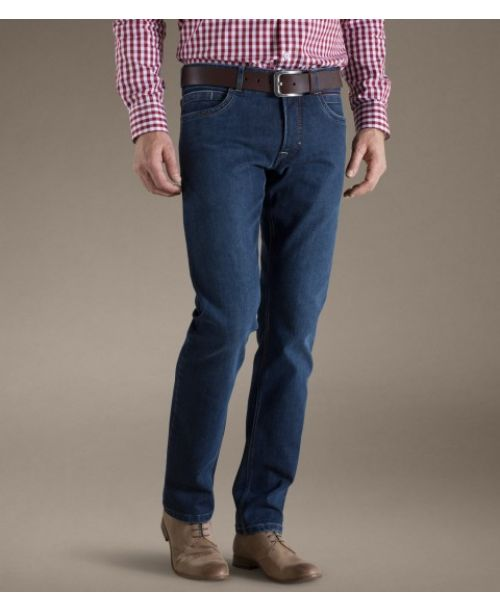 Meyer Texas Modern Denim Blue Jeans - Jeans
