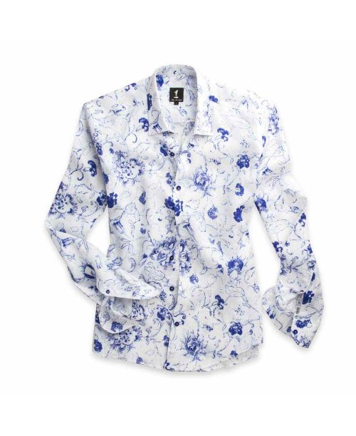 1 Like No Other Palps Print Shirt 2772S White