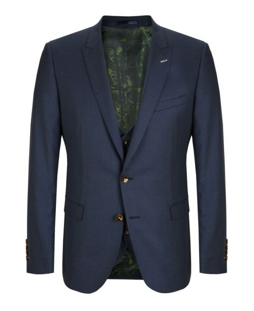 Remus Uomo Blue 3 Piece Suit