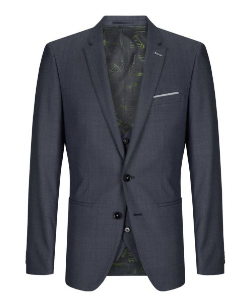 Remus Uomo Light Blue X-Slim Fit 3 Piece Suit