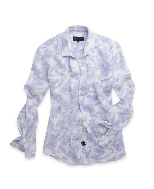 1 Like No Other Kuroba Linen Shirt White