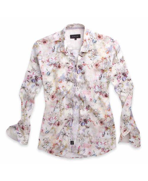 1 Like No Other Hanakotoba Linen Shirt