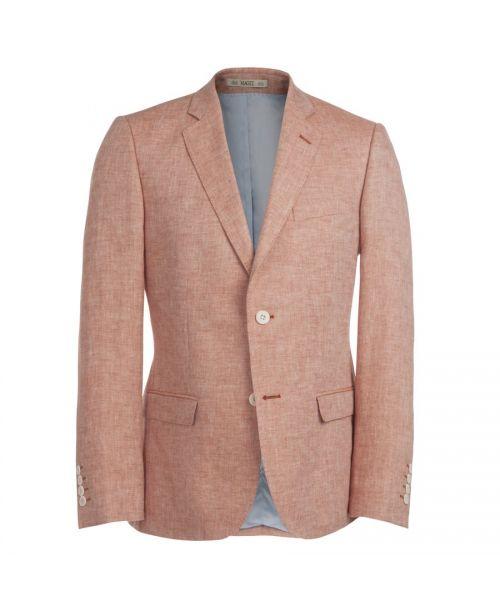 Magee Dillon Linen Jacket Coral