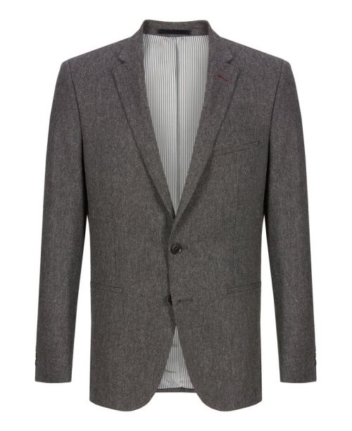 Remus Uomo Grey Tweed 3 Piece Suit