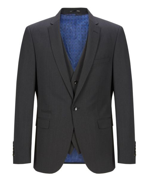 Remus Uomo Slim Fit MnM Charcoal Suit