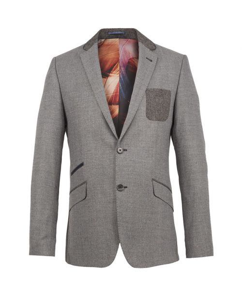 Guide London 3 Piece Suit, Classic Soft Touch Light Grey