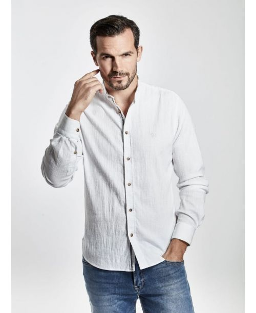 Mish Mash Dorset Shirt White