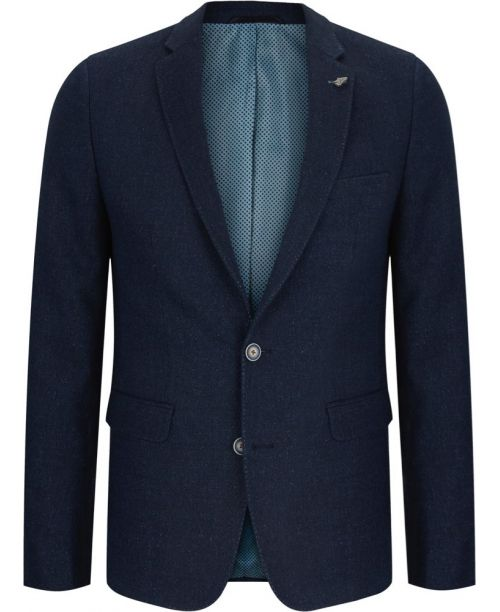 Remus Uomo Dark Blue 3 Piece Suit