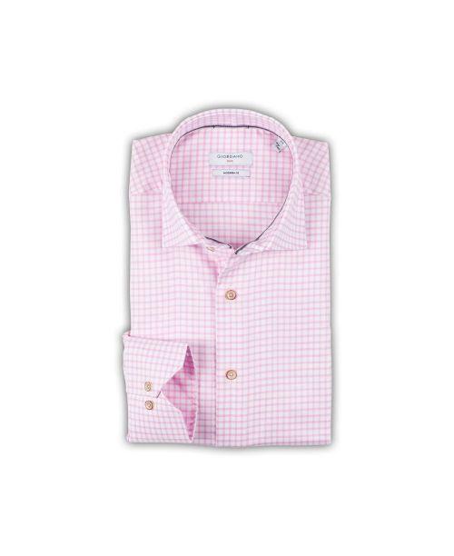 Giordano Maggiore Cutaway Pink Check