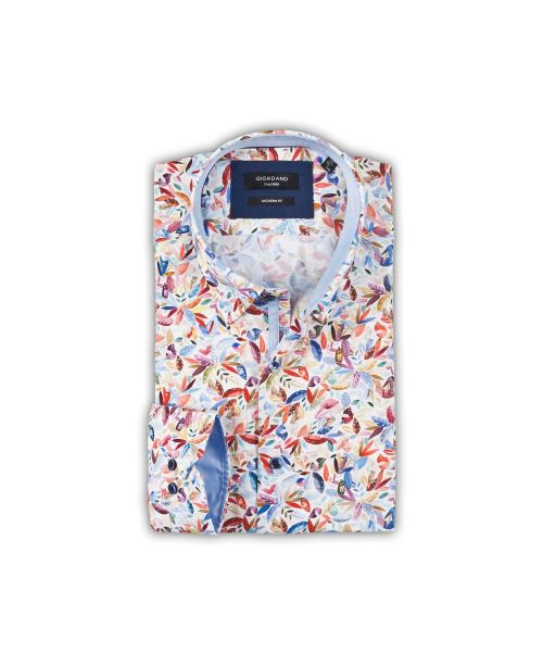 Giordano Brighton Button Under Floral Shirt