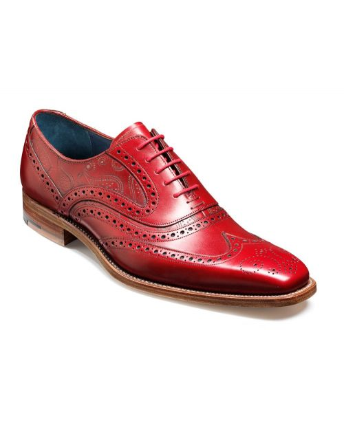 Barker Shoes McClean Red Laser Brogue