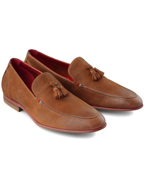 Sergio Duletti Brown Tassel Loafer