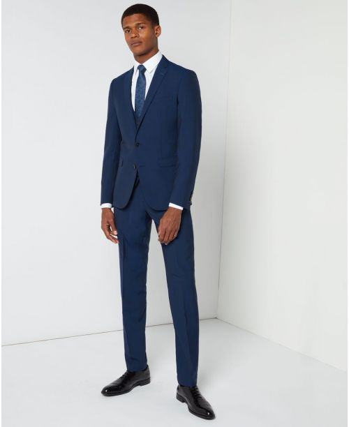 Remus Uomo Slim Fit Performance Mix n Match 3 Piece suit Blue