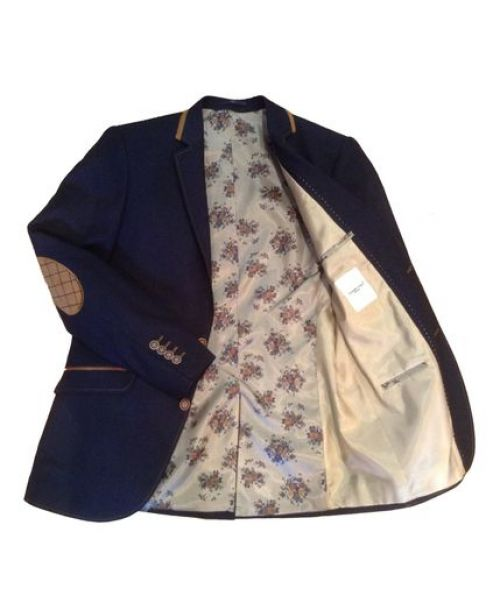 Claudio Lugli Jacket  and Waistcoat CL1049 Navy - Jackets