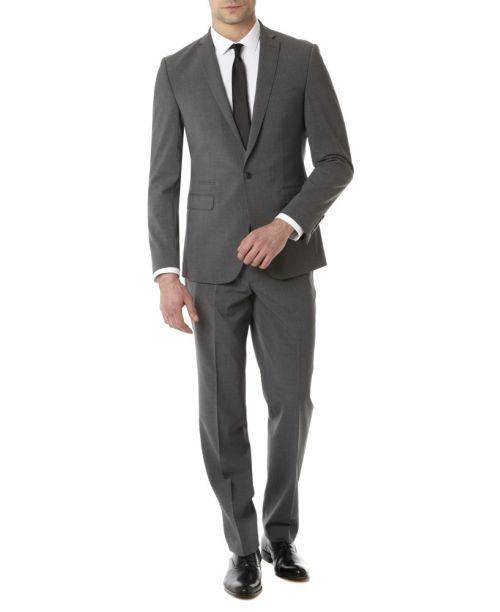Remus Uomo Slim Fit MnM Grey Suit