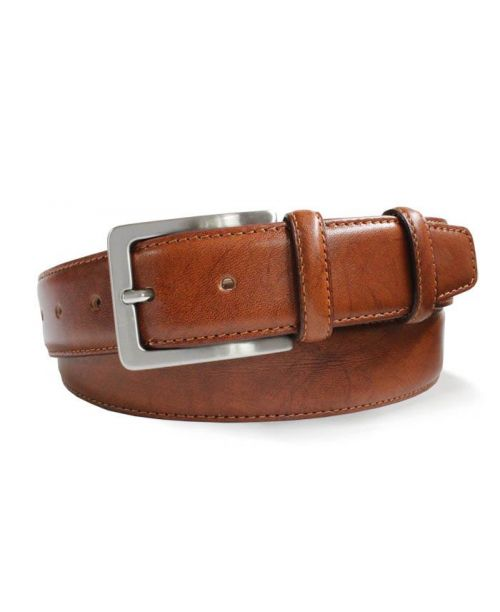 Robert Charles Tan Leather 35mm Belt