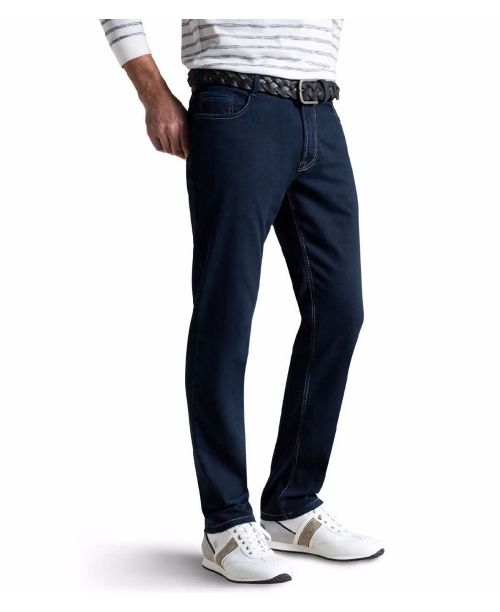 Meyer Arizona Superstretch Dark Jeans