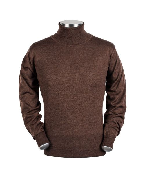 Baileys High Neck Pullover Brown