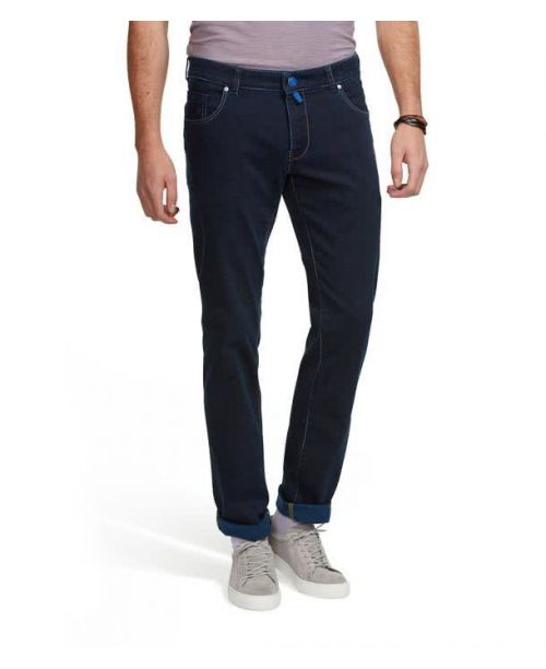 Meyer M5 Superstretch Slim Jeans Dark Blue