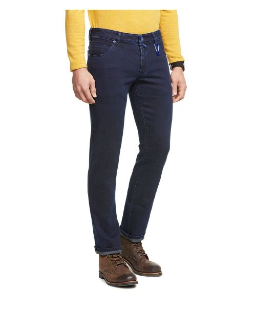 Meyer M5 Super Stretch Overdyed Jeans Navy