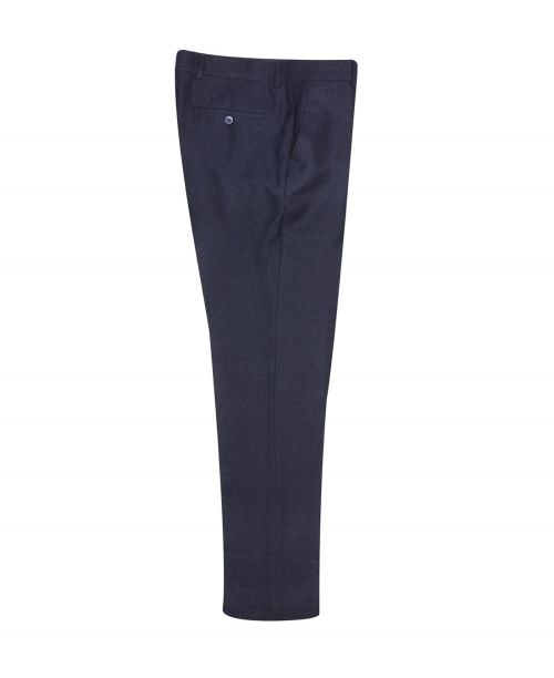 Fratelli Uniti Navy Tweed Trousers