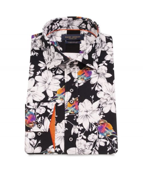 Guide London Colourful Print Shirt