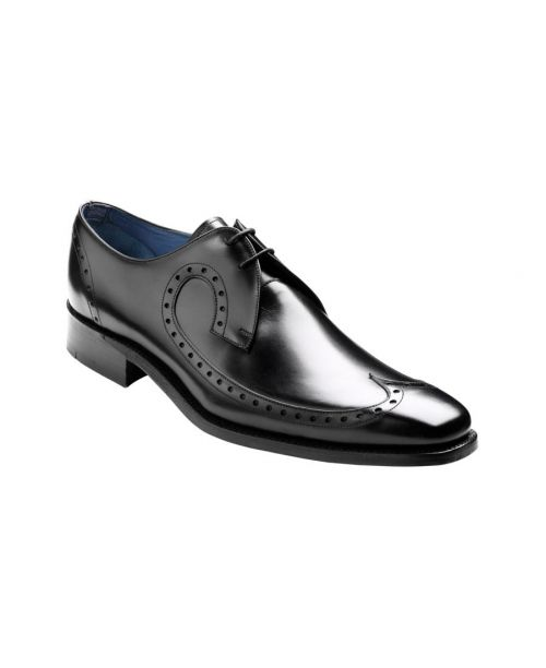 Barker Shoes Woody - Black Calf