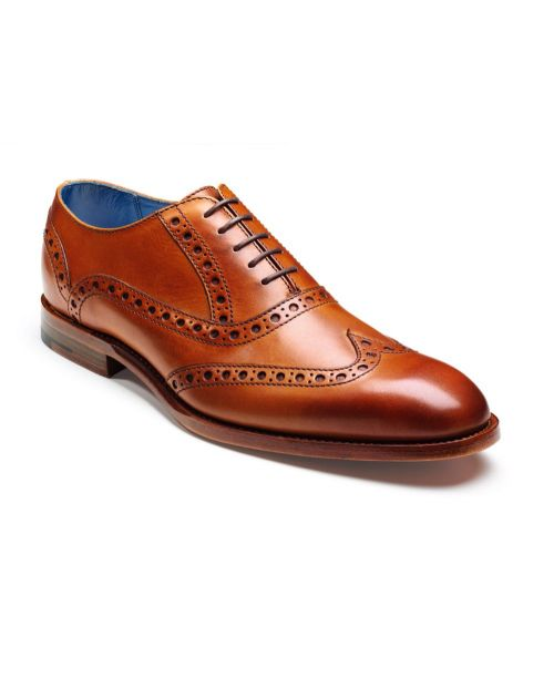 Barker Shoes Grant Cedar Calf Brogue