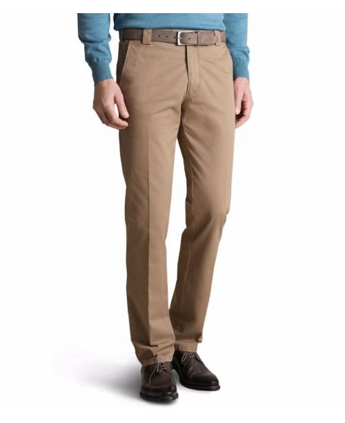 Meyer Roma Soft Cotton Chinos Beige