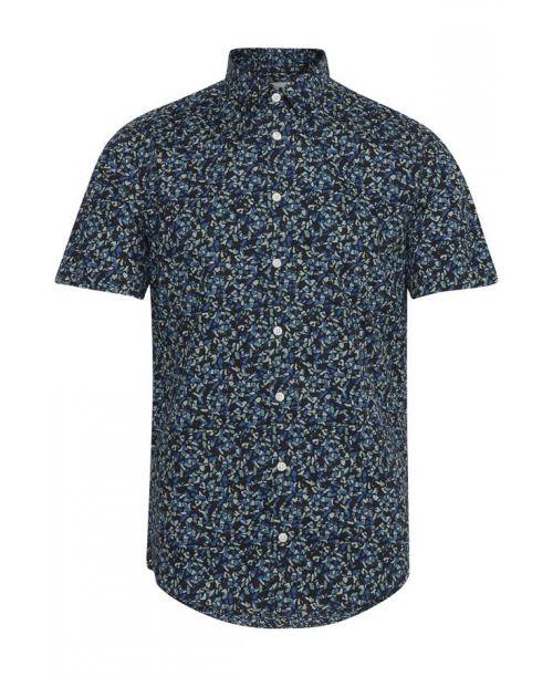 Casual Friday SS Blue Print Shirt