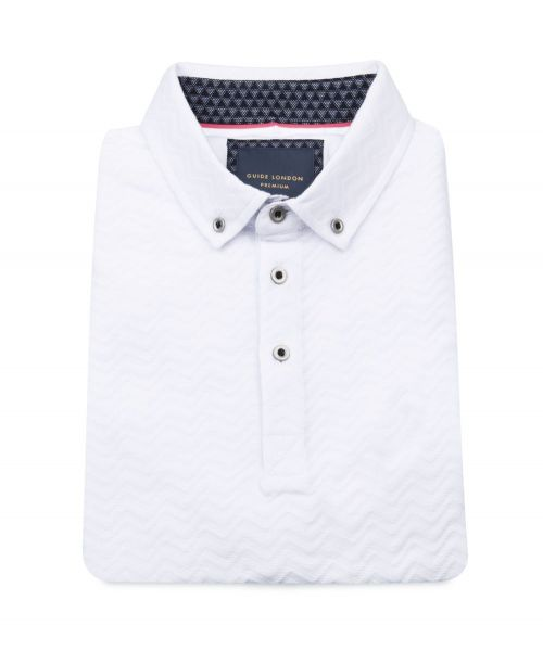 Guide London Short Sleeved Polo Navy